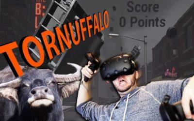 [truc de fou] – Jouer en réalité virtuelle avec les pieds , c'est maintenant !