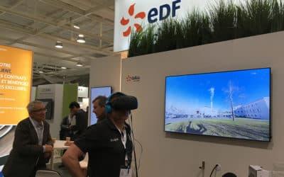 La VR Academie réalise l'animation en réalité virtuelle du stand Dalkia