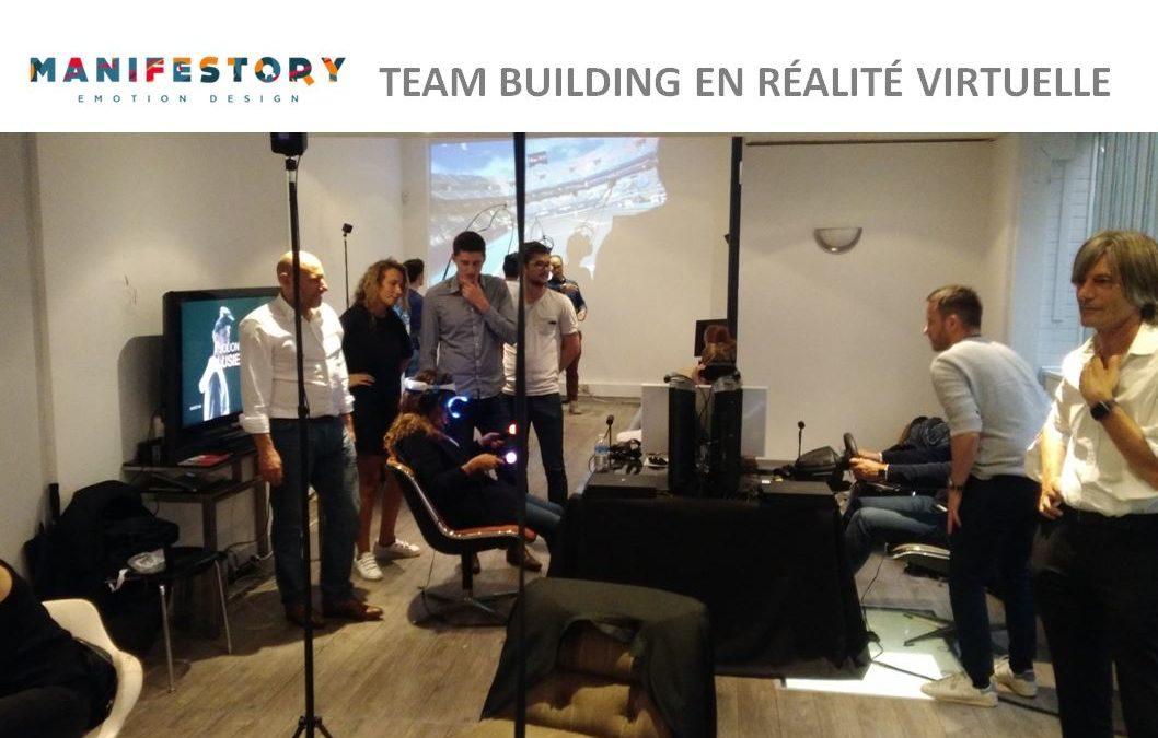 Teambuilding en réalité virtuelle avec la société Manifestory