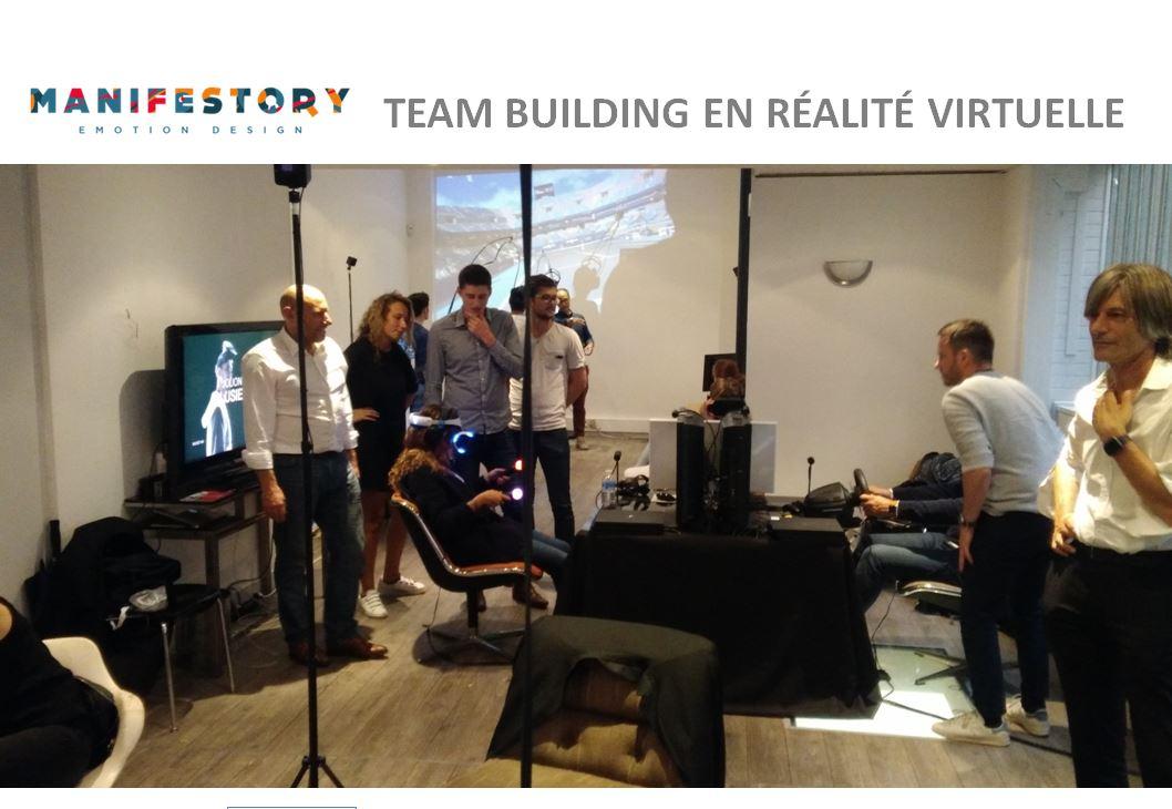VR team-building