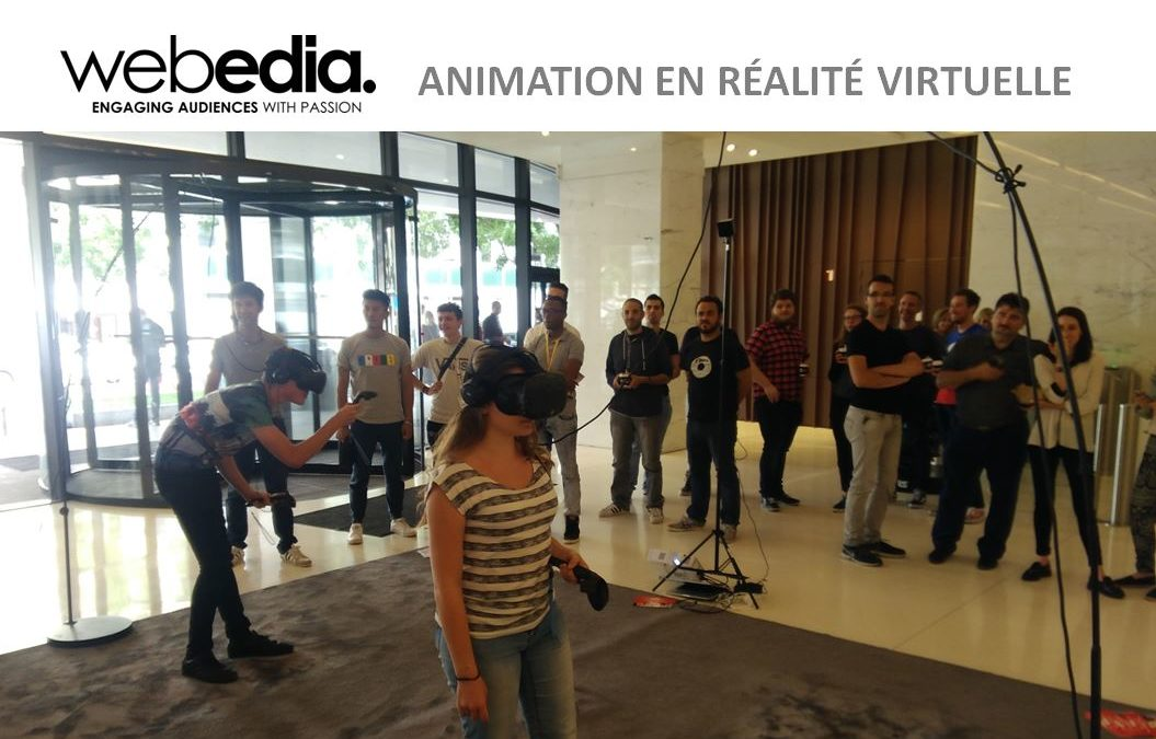 animation réalité virtuelle en entreprise