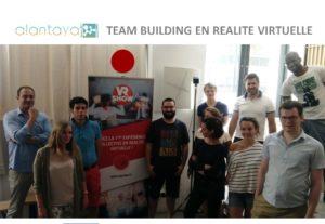 Teambuilding en réalité virtuelle