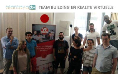 Teambuilding en réalité virtuelle avec la Start-up ALANTAYA