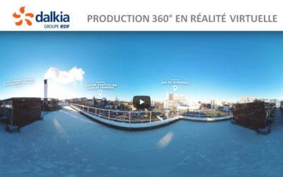 Notre vidéo 360 degrés promotionnelle réalisée pour Dalkia