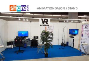 Animation en réalité virtuelle au salon