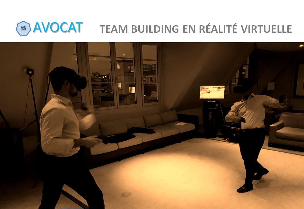team building en réalité virtuelle à Paris