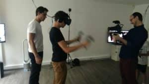 comédien Haroun en réalité virtuelle