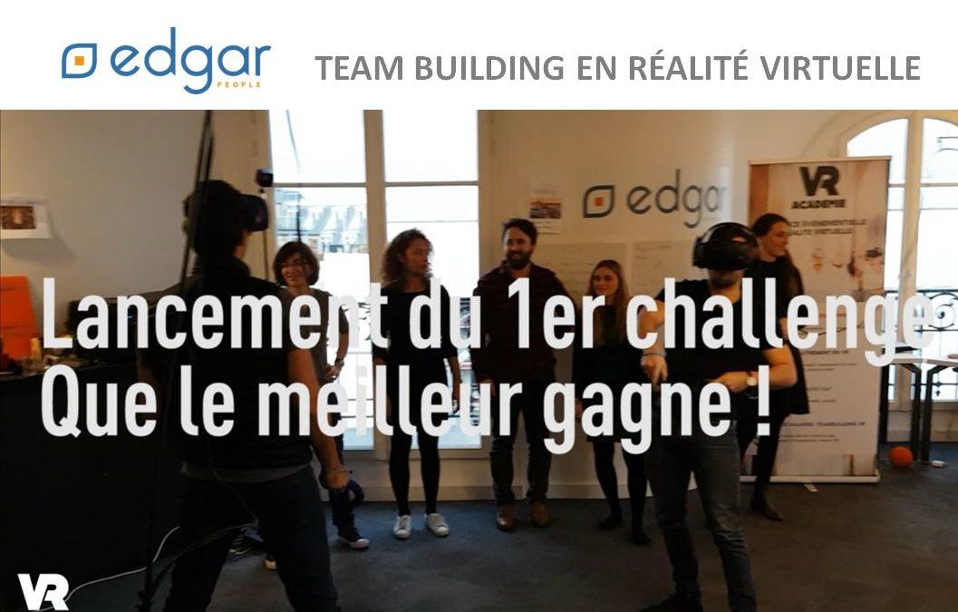Team-building réalité virtuelle chez Edgar People