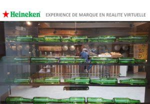 La réalité virtuelle pour vos événements d'entreprise - client Heineken