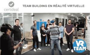 idée activité teambuilding en réalité virtuelle Certideal