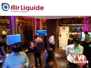AIRLIQUIDE - Animation séminaire réalité virtuelle