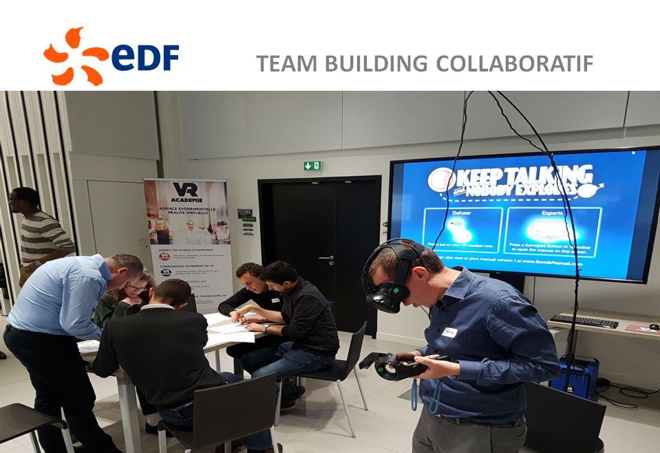activité groupe team building