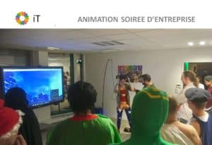 idée animation entreprise soirée fin d'année
