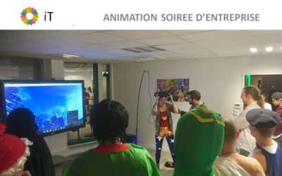 Idée animation entreprise soirée de fin d'année chez IT