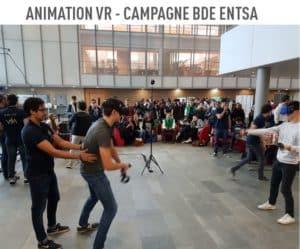 location casque réalité virtuelle campagne bde entsa