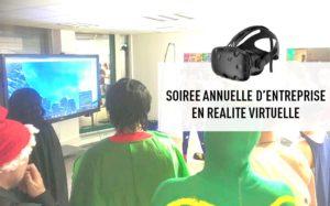 soirée annuelle entreprise réalité virtuelle