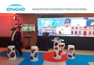 Animation evenement professionnel en réalité virtuelle