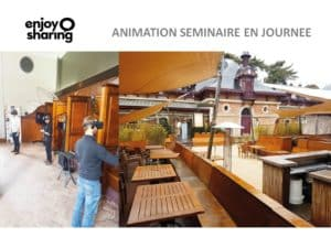 Animation journée entreprise vr académie