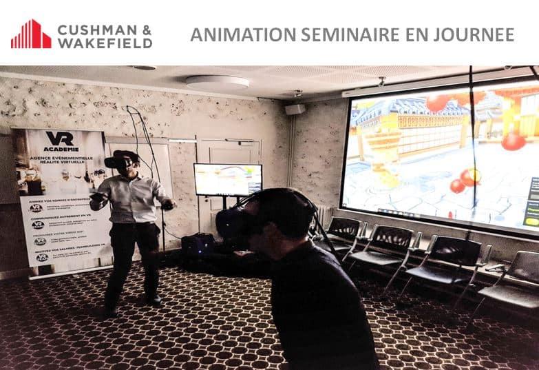 ► Animation d'un seminaire d'entreprise en Ile de France