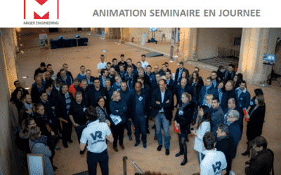 ► Animation de séminaire en réalité virtuelle avec Maser Engineering