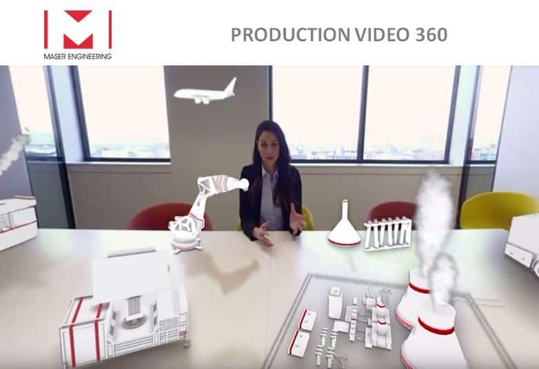 Coulisses du tournage vidéo 360 VR de MASER ENGINEERING
