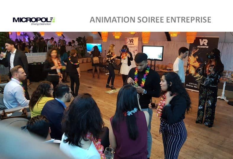 Animation HTC Vive vr academie