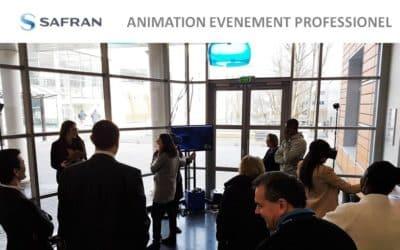 ► Animation événementielle d'entreprise avec le leader mondial SAFRAN