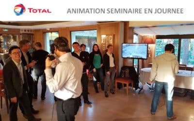 ► La Réalité Virtuelle – le thème du séminaire de l'entreprise TOTAL