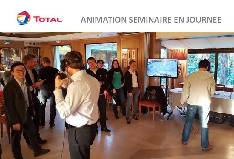 La Réalité Virtuelle – le thème du séminaire de l'entreprise TOTAL