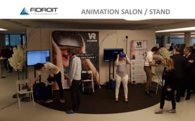 ► Retour sur l'animation du Colloque Fidroit en réalité virtuelle