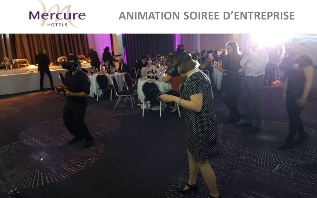 VR Académie installe la réalité virtuelle pour la chaîne d'hôtels Mercure