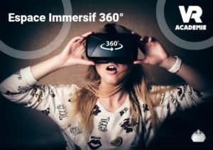 espace immersif vidéo 360°