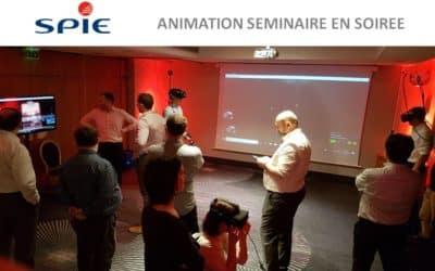 ► SPIE choisit la réalité virtuelle à Tours pour animer son séminaire d'entreprise