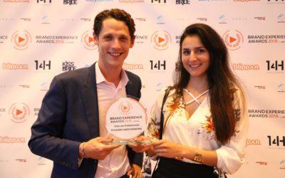 ► VR Académie récompensée aux Brand Experience Awards 2018
