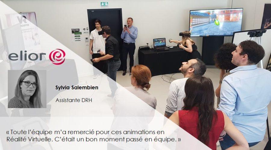 animation réalité virtuelle entreprise Témoignage_Elior