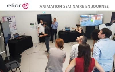 ► Elior adopte nos animations de séminaires pour cadres d'entreprise en réalité virtuelle
