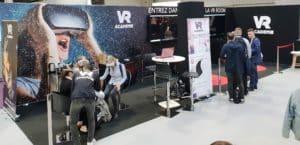Animation stand salon réalité virtuelle vr academie
