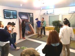 salle arcade réalité virtuelle Levallois VR TEAM