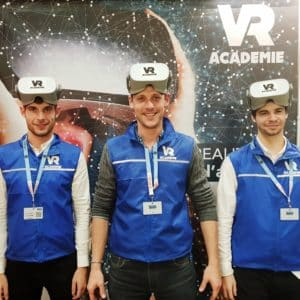 equipe animateurs réalité virtuelle vracademie