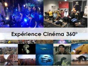 Animation événement entreprise réalité virtuelle cinéma 360°