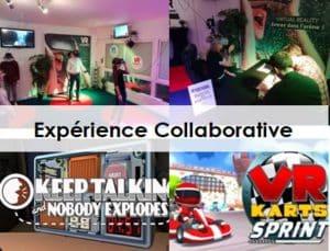 Animation événement entreprise réalité virtuelle collaborative