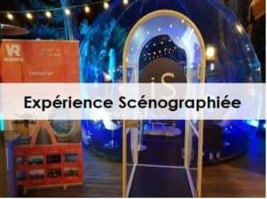 Animation événement entreprise réalité virtuelle scénographie