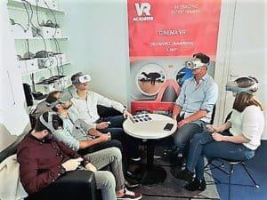 salle de réalité virtuelle a levallois-perret stand cinéma 360°