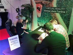 salle de réalité virtuelle a levallois-perret stand experience collaborative