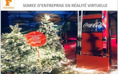 Animation Winter Party en réalité virtuelle à la brasserie d'Auteuil