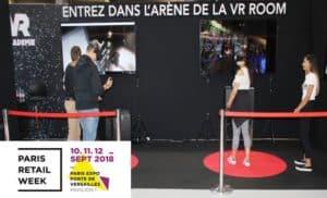 animation salon professionnel réalité virtuelle paris retail week