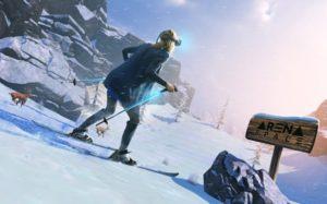 animation réalité virtuelle ski