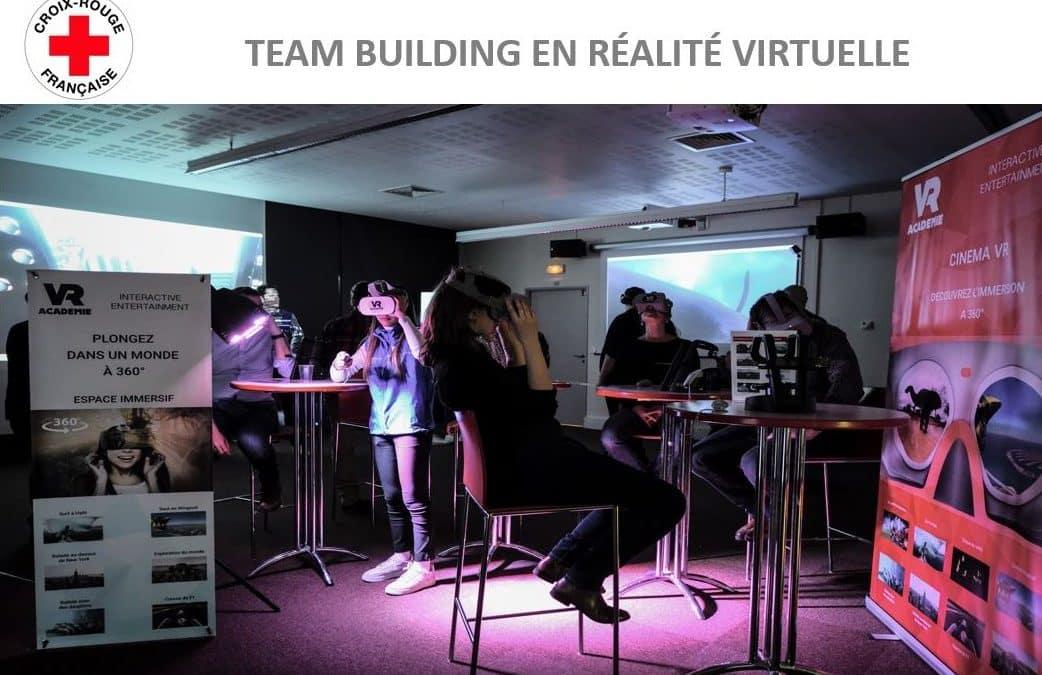 Une animation team-building en réalité virtuelle sur mesure pour la Croix Rouge