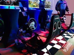 teambuilding simulation automobile en réalité virtuelle pilotage web