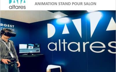 Altares dynamise son stand avec une animation commerciale au salon Big Data